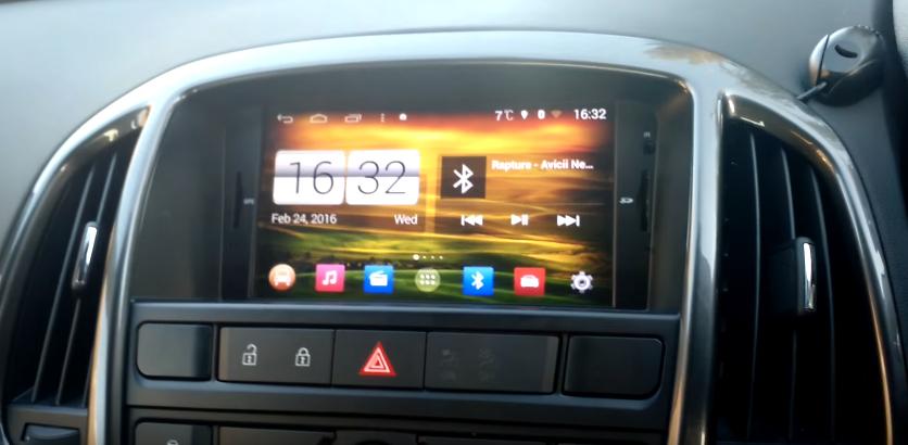 Roulez-en toute tranquillité avec l'Autoradio GPS Astra J