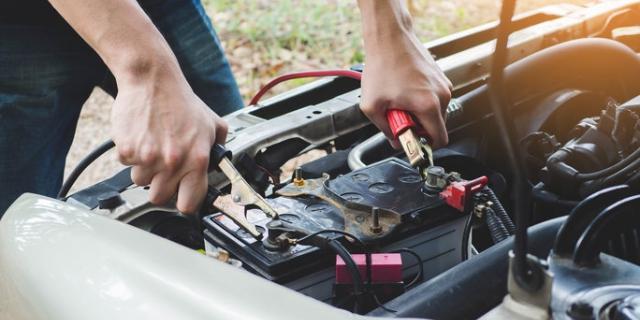 Les critères sur une batterie de voiture